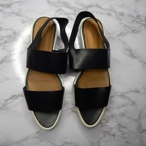 Everlane Womens The Street Sandal Black  Sz 10